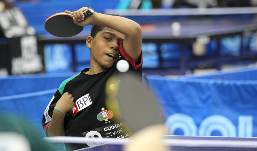 Tiago Abiodun disputou quartos de final de sub15 em Belgrado